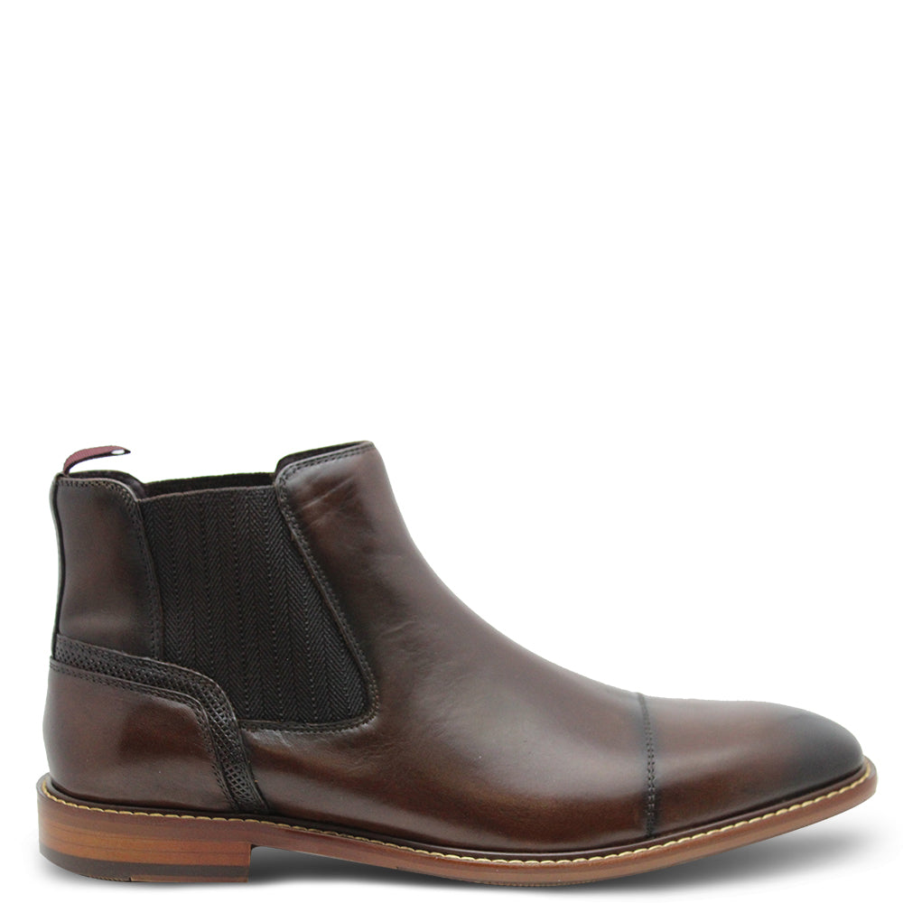 Julius Marlow Bask Chocolate Mens Boot