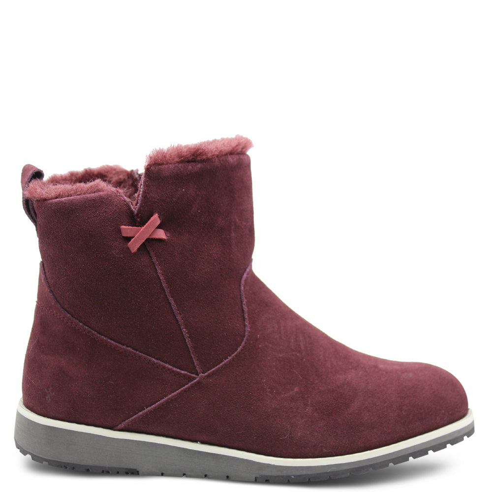 Emu beach Mini Claret Womens Ugg Boot