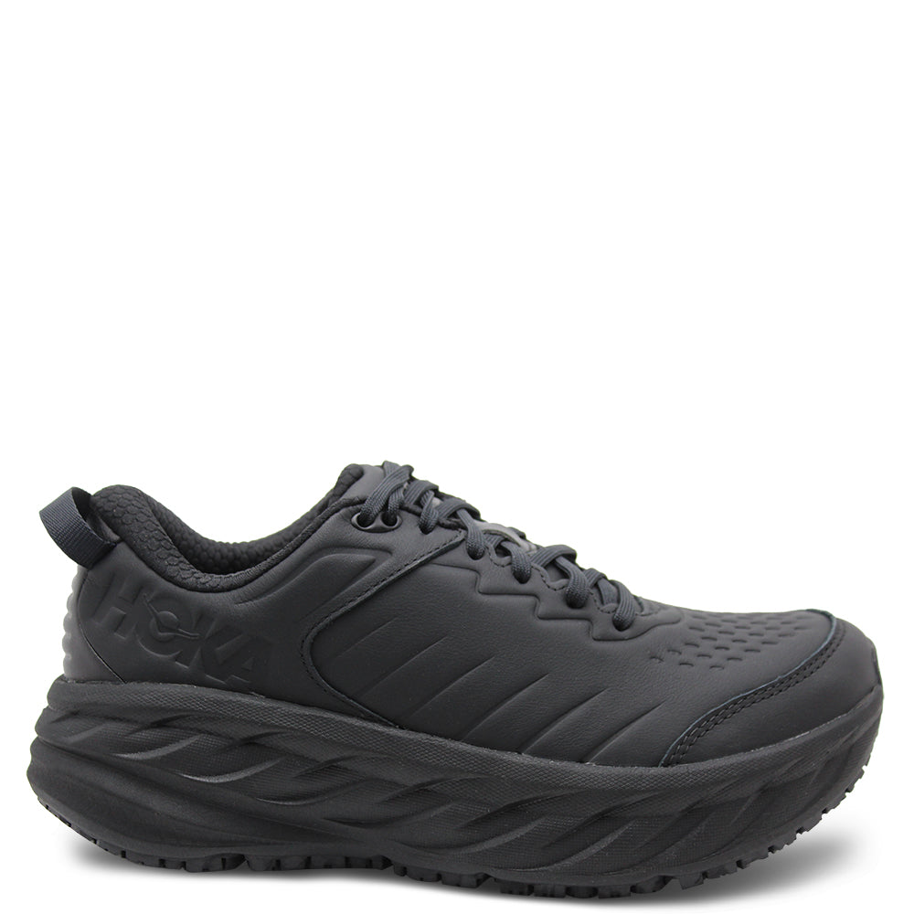 Hoka Bondi SR Black Womens Runner