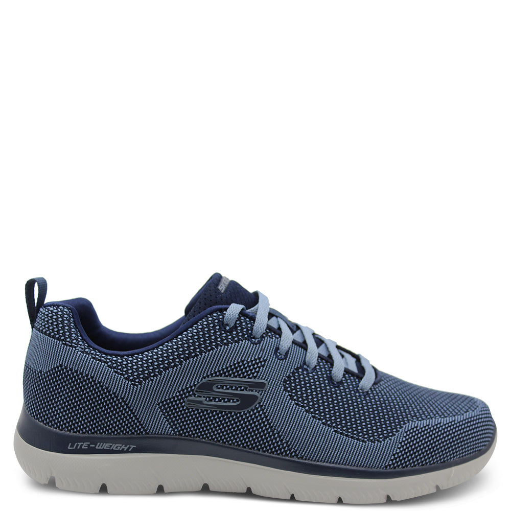 Skechers Brisbane Men's Blue Sneaker