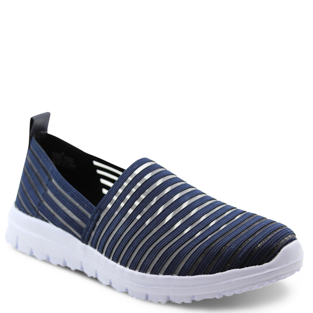 Diana Ferrari Camero womens casual slip on shoe navy