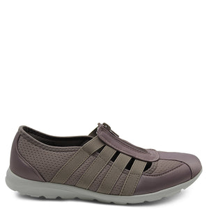 CC Resorts christine taupe satin casual walking shoe