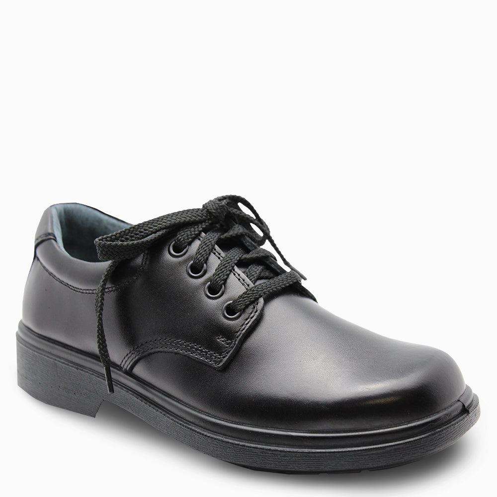 Clarks Daytona senior Black lace up school shoes