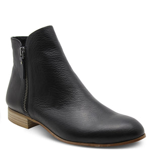 Django & Juliette Fabian Black/Natural boot