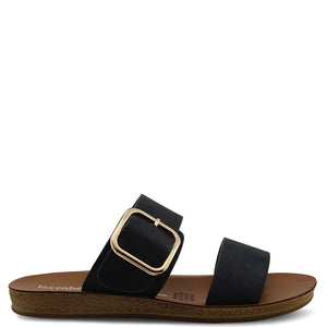 Los Cabos Doti Black Womens Slide