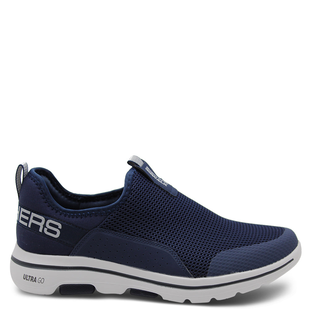 Skechers Downdraft Navy Mens Slip on