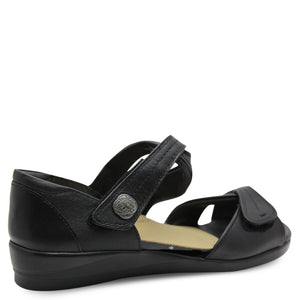 Ziera Doxie black womens Sandal