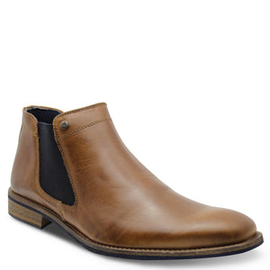 Wild Rhino Drake Brown Mens Boot