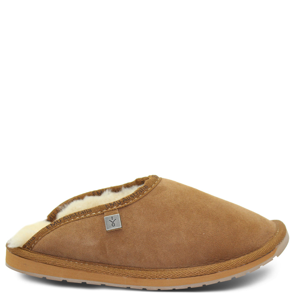 Emu Esperence Chestnut Mens slipper