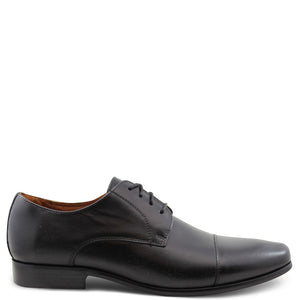 Florsheim Cross Black Mens Lace Up