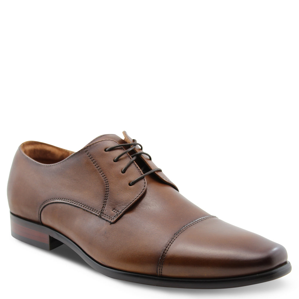 Florsheim Cross Tan Mens Lace Up