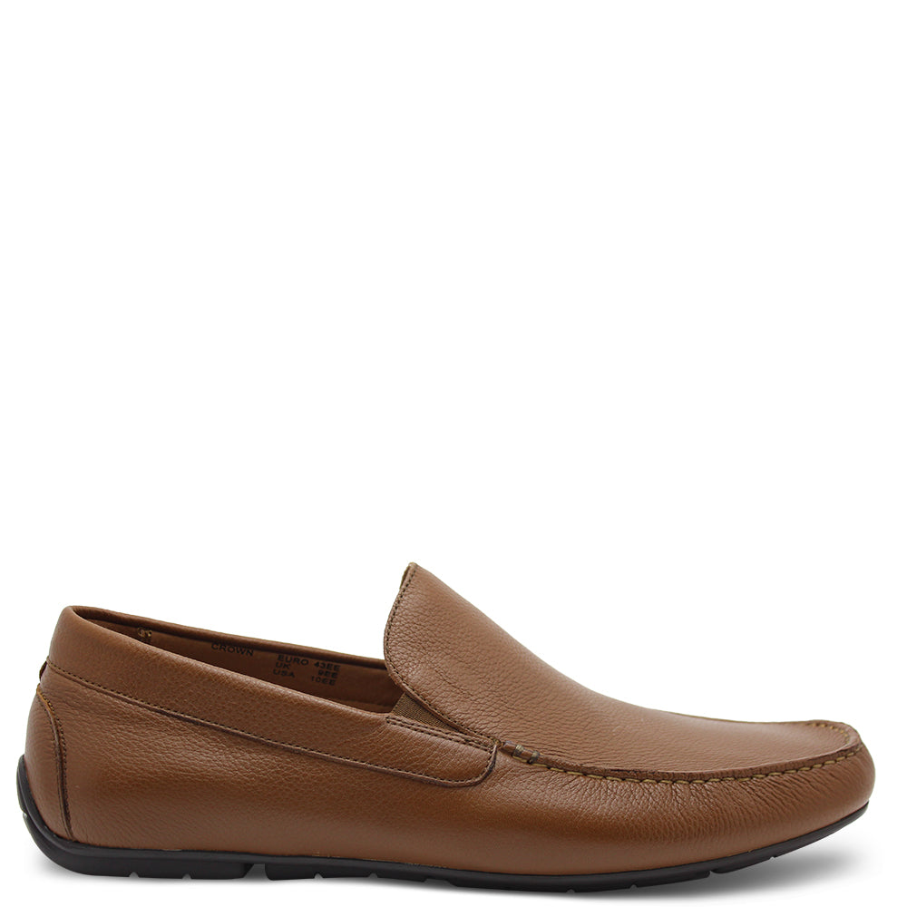 Florsheim Crown Men's Tan Moccasin