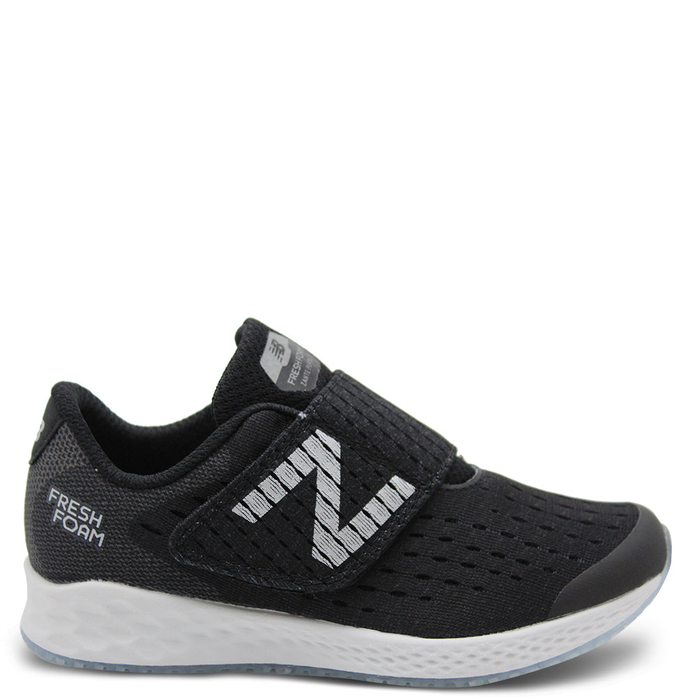 New Balance Fresh Foam Zante Pursuit Black/White Kids Runner