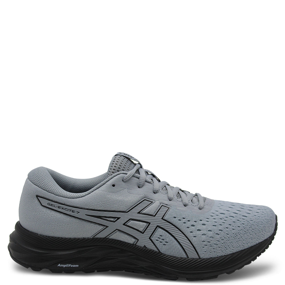 Asics Gel Excite 7 Mens Grey/Black Runner