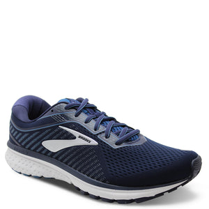 Brooks Ghost 12 Mens D Navy/Silver