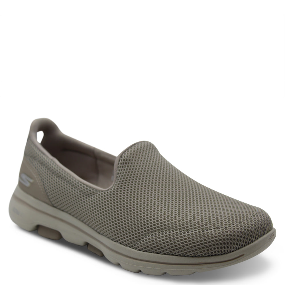 Skechers Go Walk 5 Taupe slip on