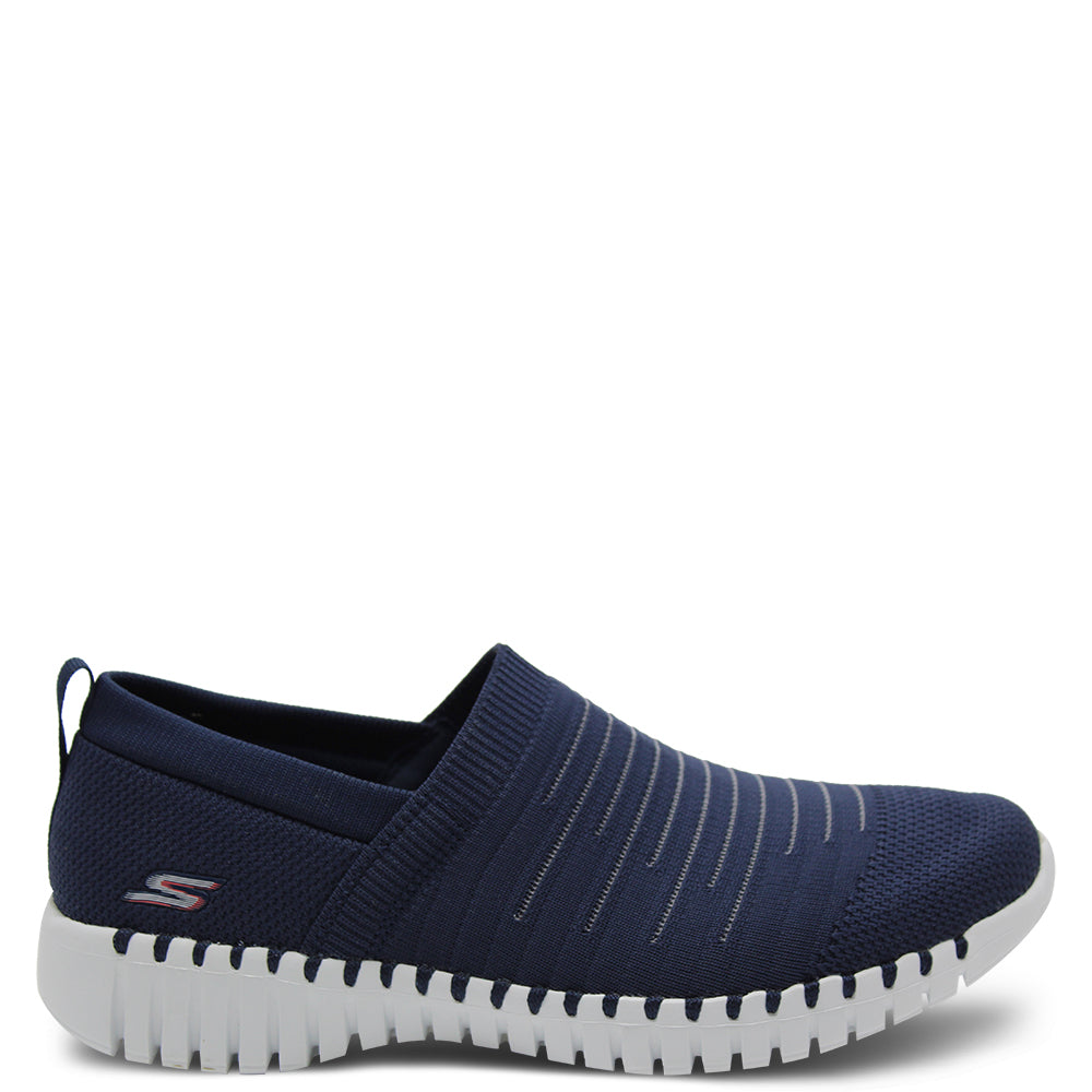 Skechers GoWalk Smart Wise Navy Womens Sneaker