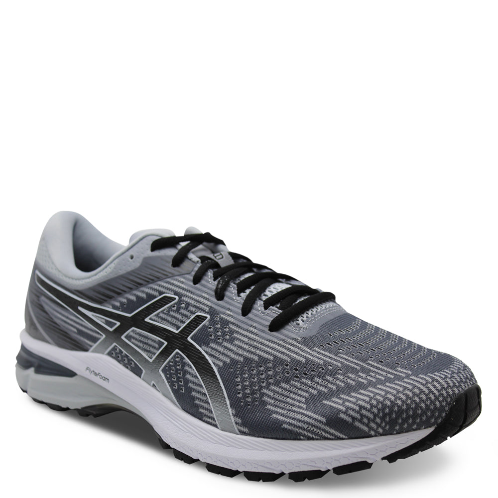 Asics GT2000 8 Mens 2E Piedmont Grey/Black