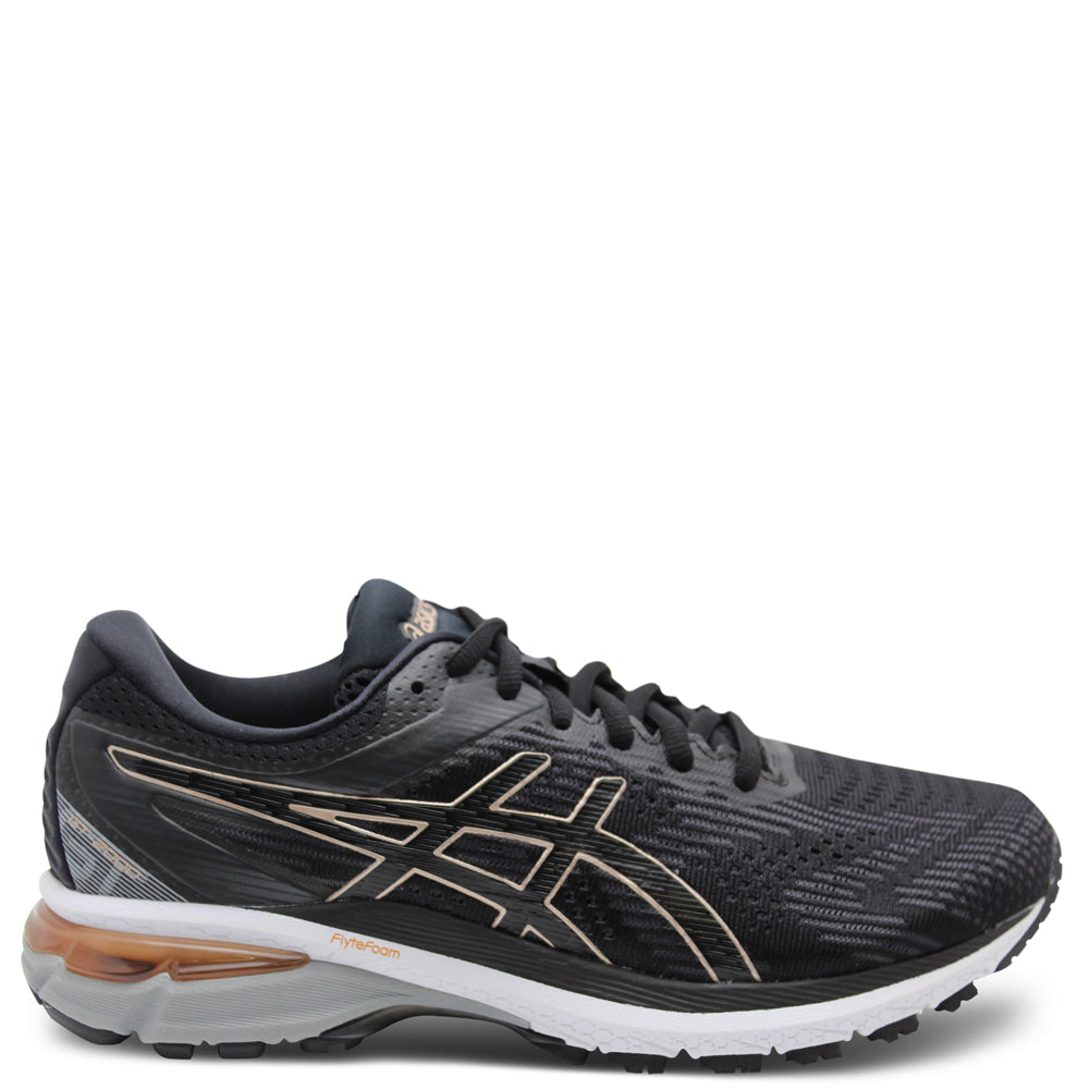 Asics GT2000 8 Womens D Black/Rose Gold