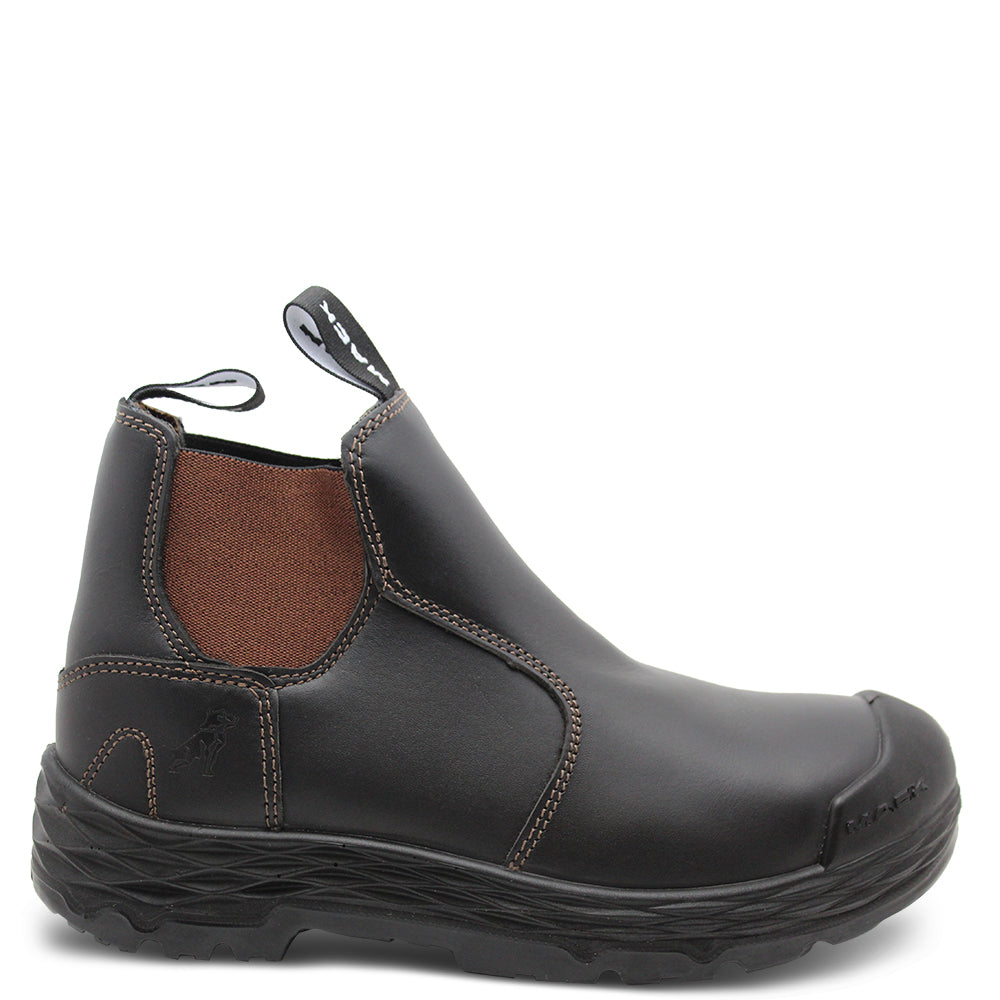 Mack Hub Mens Claret E/S Safety Boot