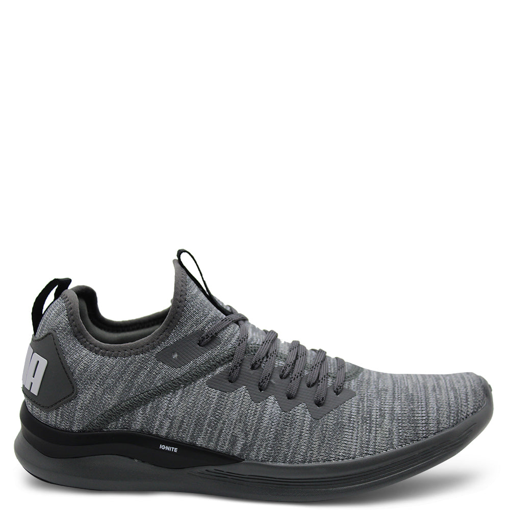 Puma Ignite flash Grey/Black Mens Runner