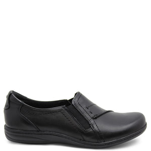 Planet Jemima womens Black flat casual