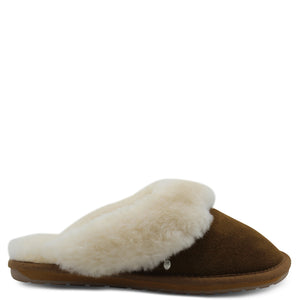 Emu Jolie Chestnut Womens Slipper