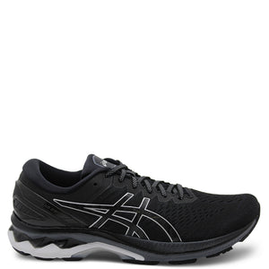 Asics Gel Kayano 27 Mens Runner Black Silver