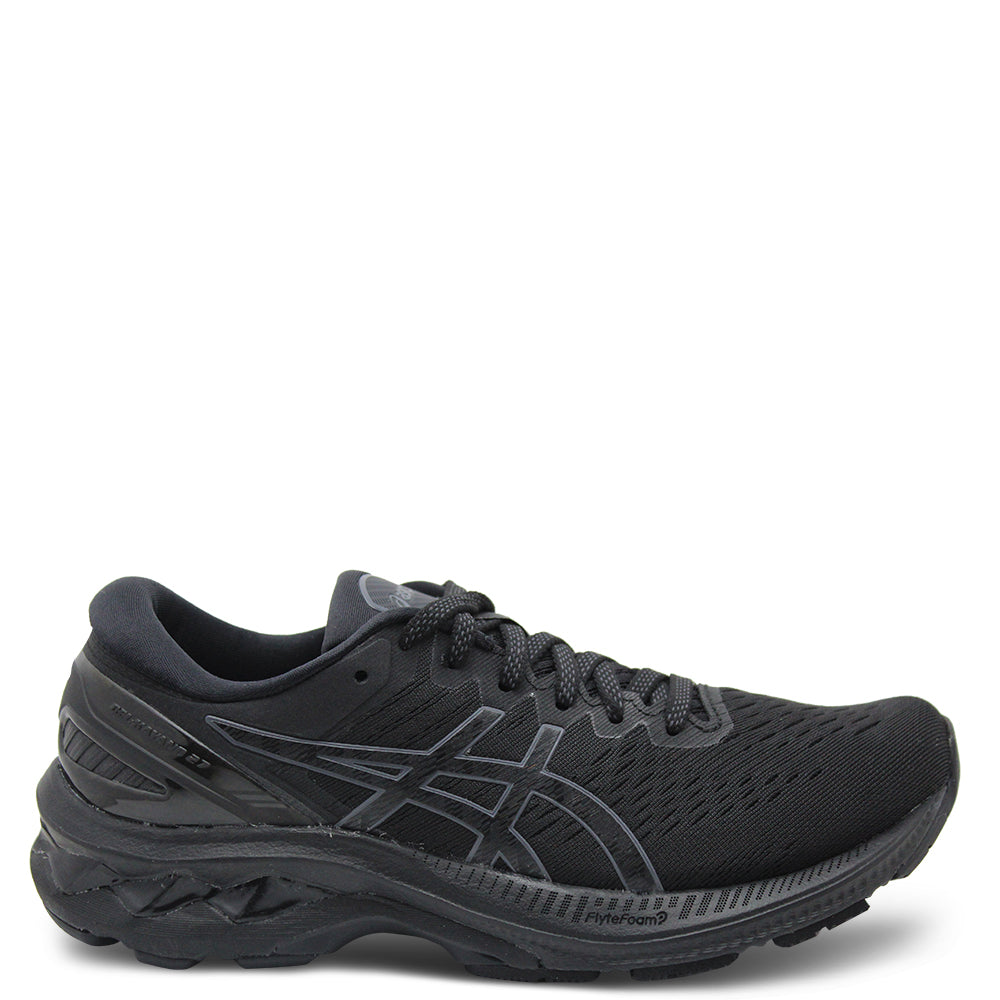 Asics Kayano 27 Womens Black/Black Runner