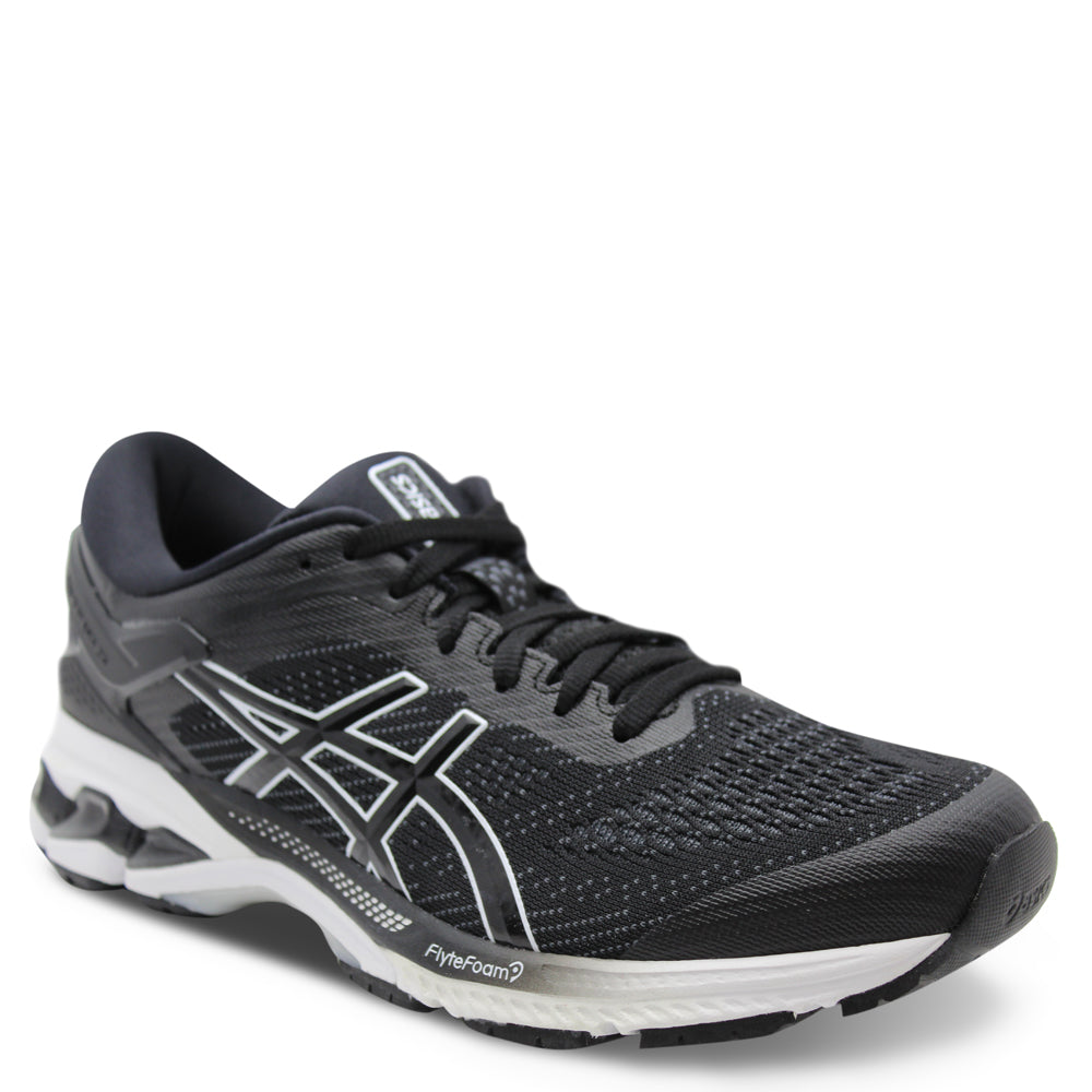 Asics Kayano 26 Womens Black/White Runner
