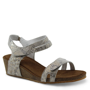 Silver Linings Kimberley Taupe Snake Sandal