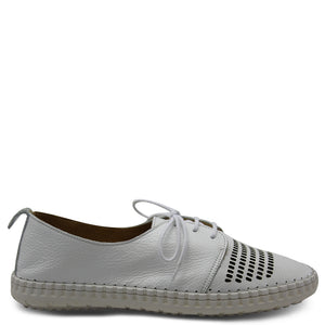 Bueno Libby White Womens Sneaker