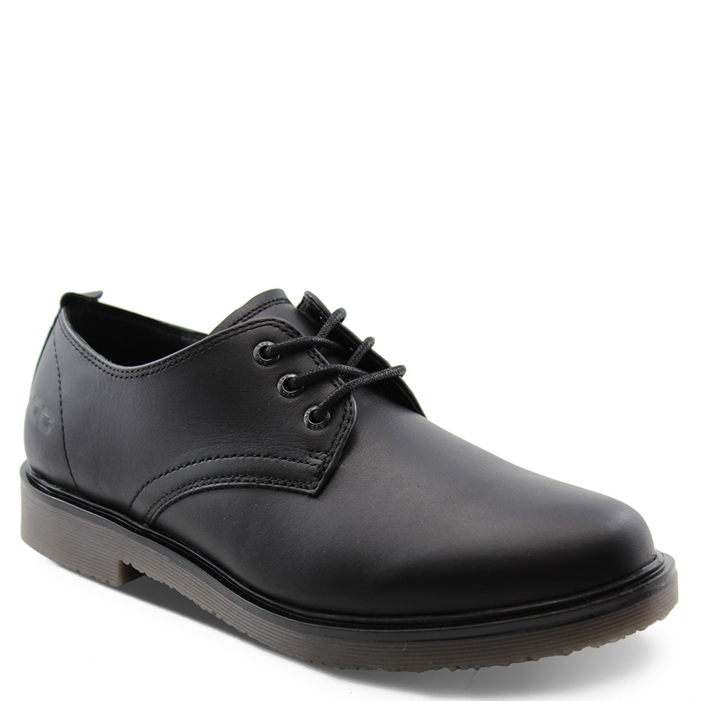 Roc Luxe Senior Black lace up School