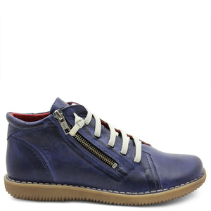 Zeta Madge Navy Womens Boot