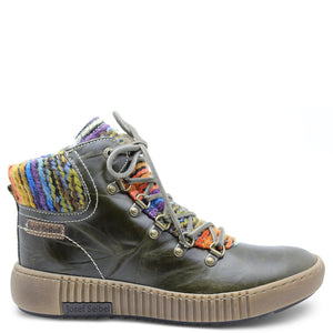 Josef Siebel Maren Olive multi Womens Boot