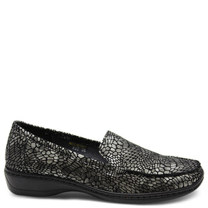 Cassini May Pewter Womens Moccasin