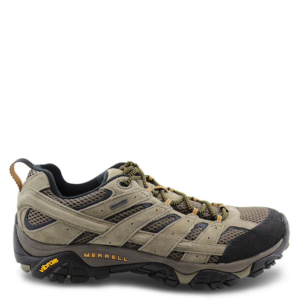 Merrell Moab Leather Low Gtx Walnut  mens Hiker