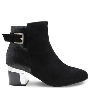 Katie N Me Mona Black Womens Boot