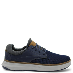 Skechers Moreno Navy Mens Lace up