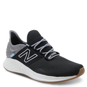 New Balance Fresh Foam Roav Mens Black with Light Aluminum