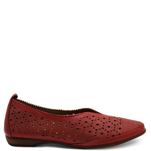 Neo VS1856 Red Womens Flat
