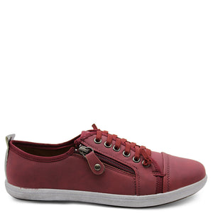 Step On Air New Zappo Burgundy Womens sneaker