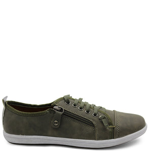 Step  On Air New Zappo Khaki Womens sneaker
