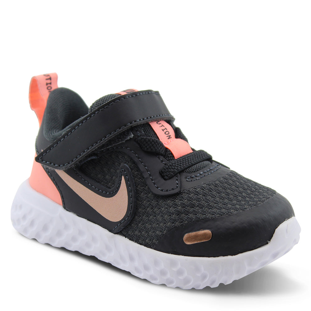 Nike Revolution 5 Toddler Pink/Black Running Shoe