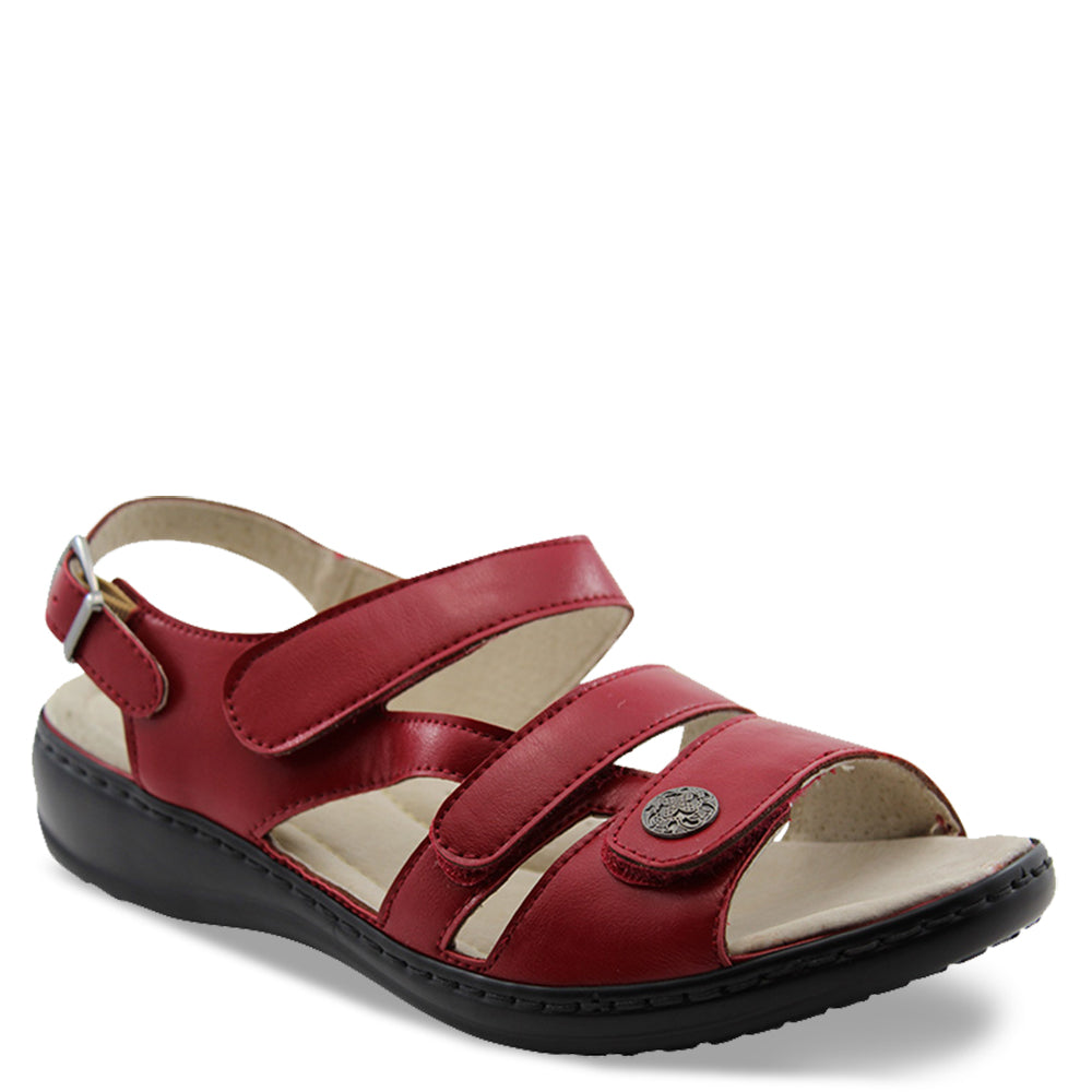 Comfort Leisure Nyx Red Womens Sandal