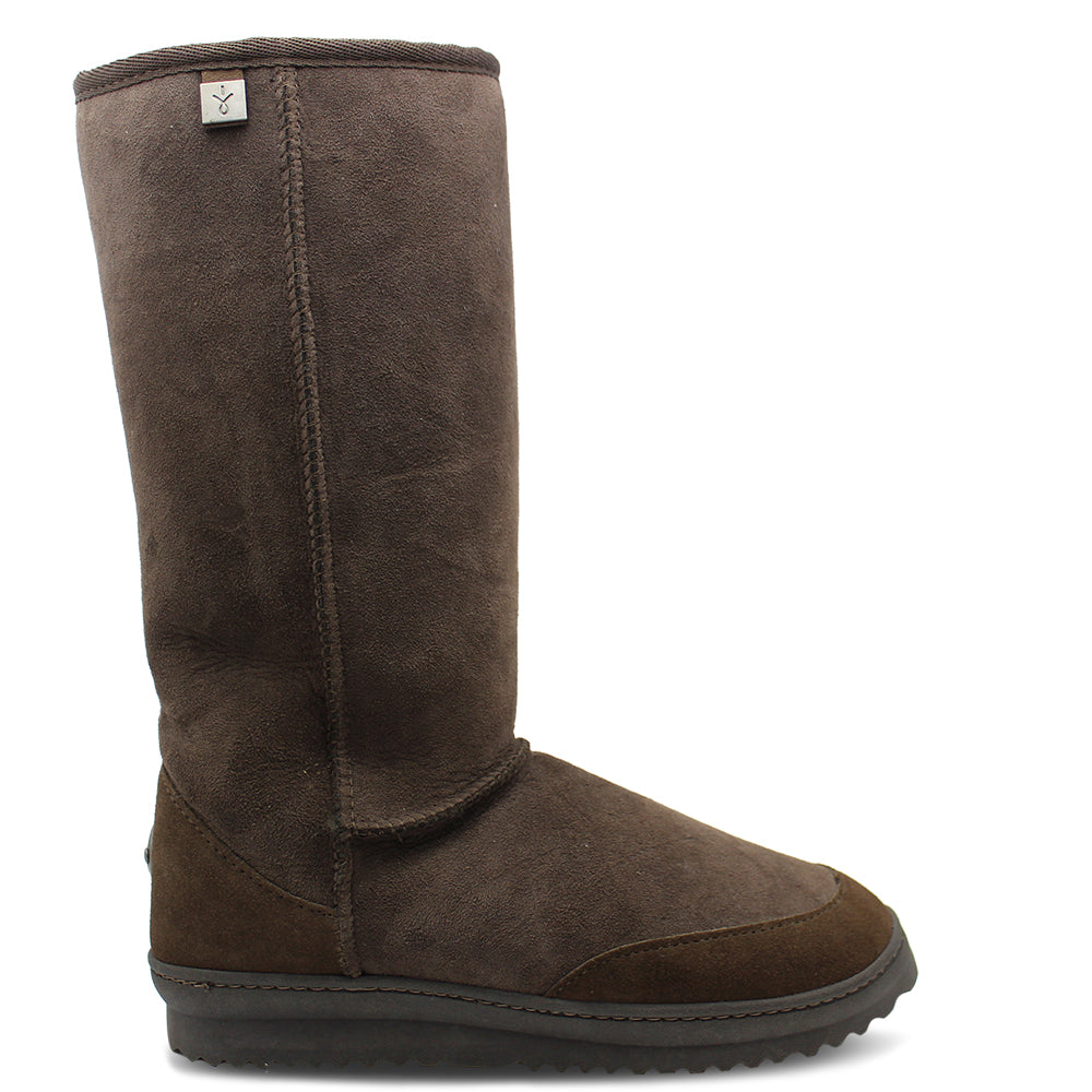 Emu Outback Hi Chocolate Ugg