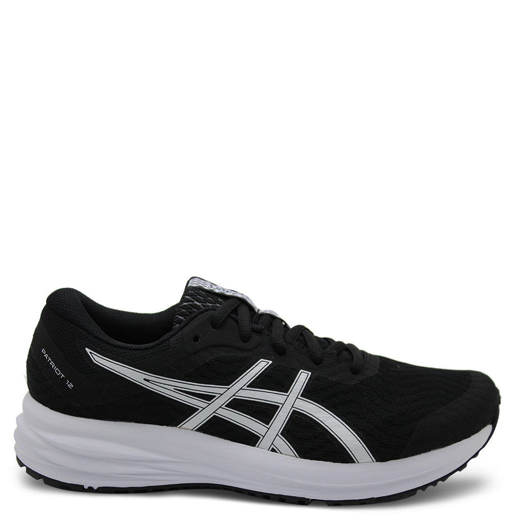 Asics Patriot 12 GS Black/White Kids Runner