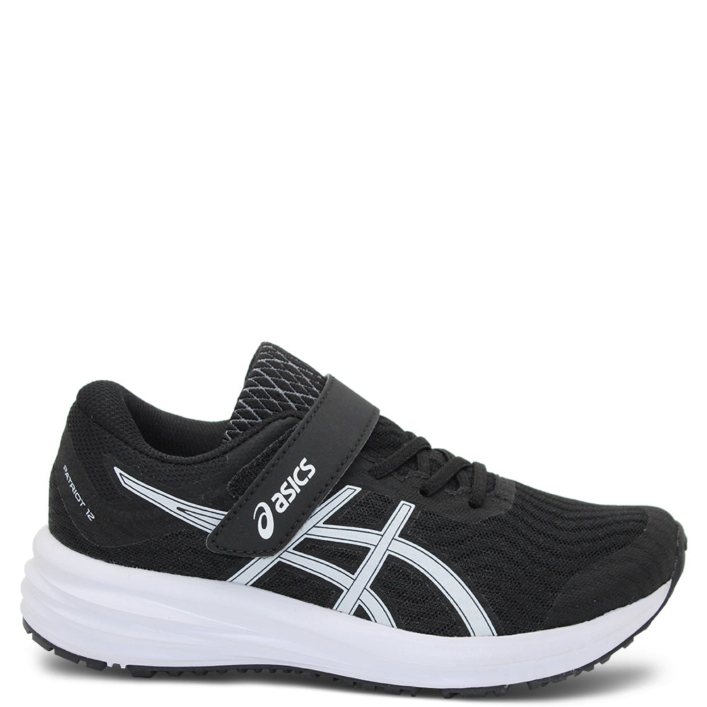 Asics Patriot 12 PS Black/White Kids Runner