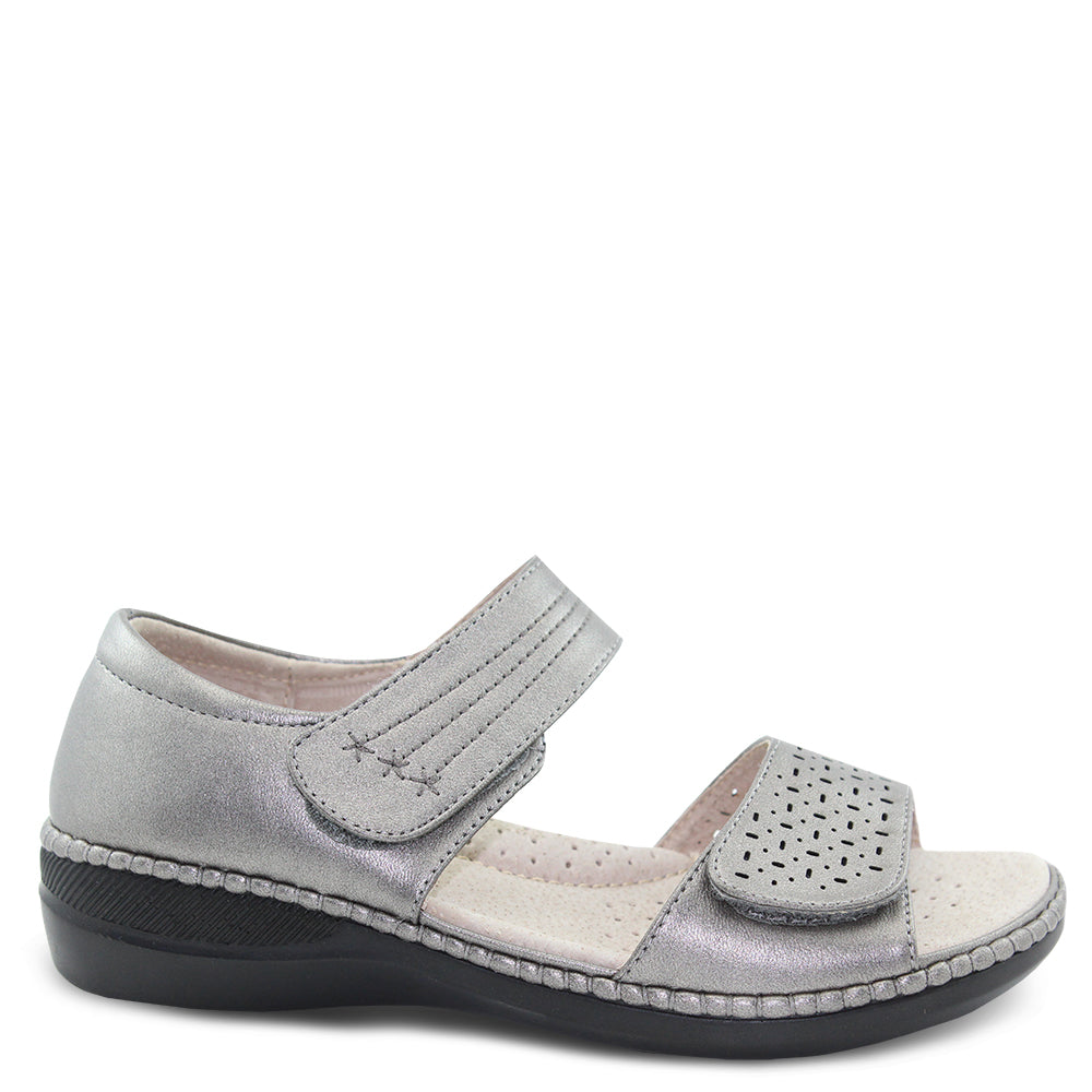 Comfort leisure Pepper Pewter Womens Sandal