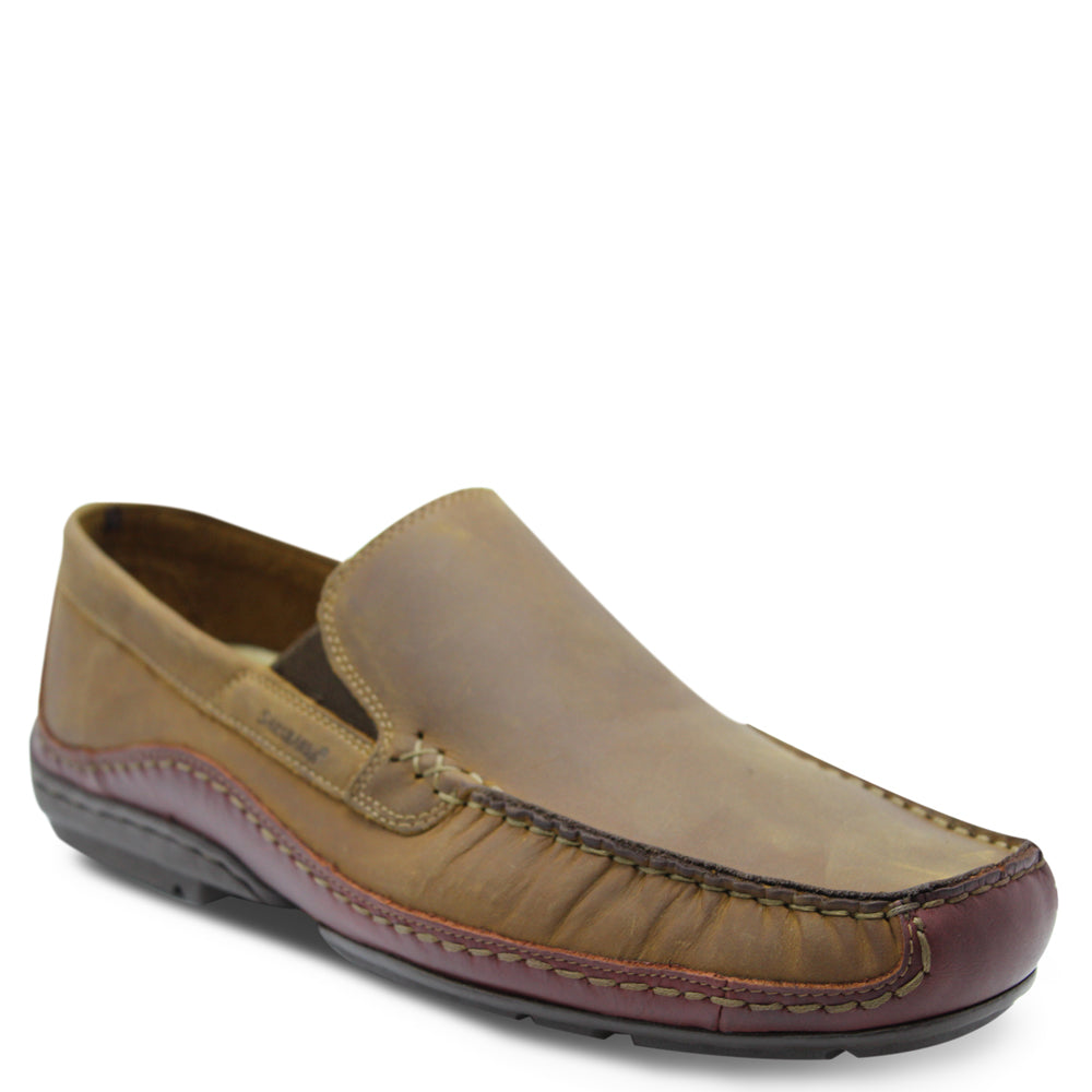 Saramnda Portland Tan slip on